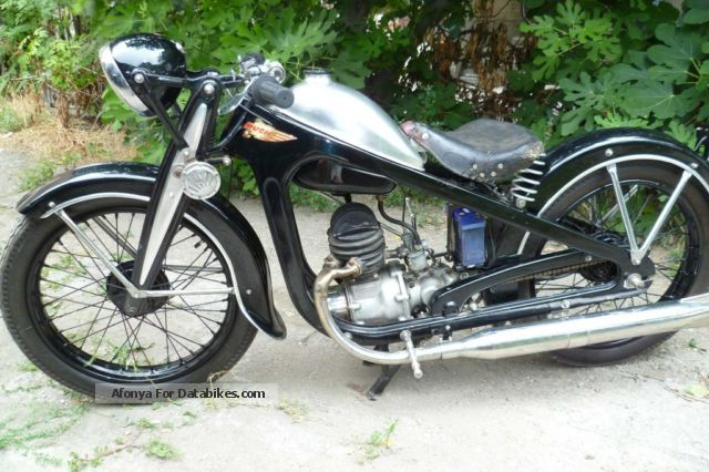Puch  200 1936 Vintage, Classic and Old Bikes photo