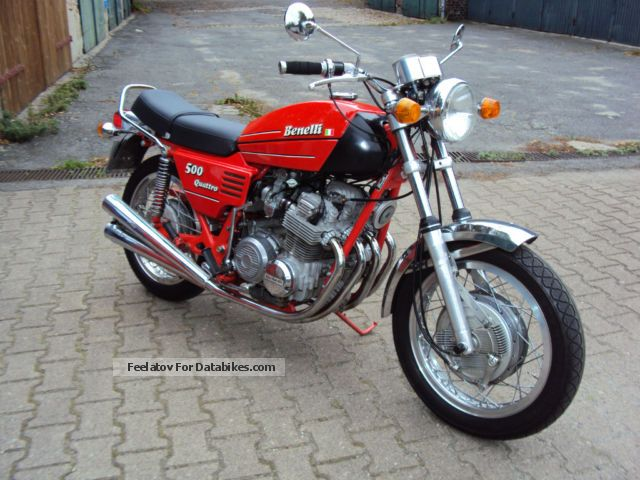 Benelli  500 quattro 1977 Vintage, Classic and Old Bikes photo