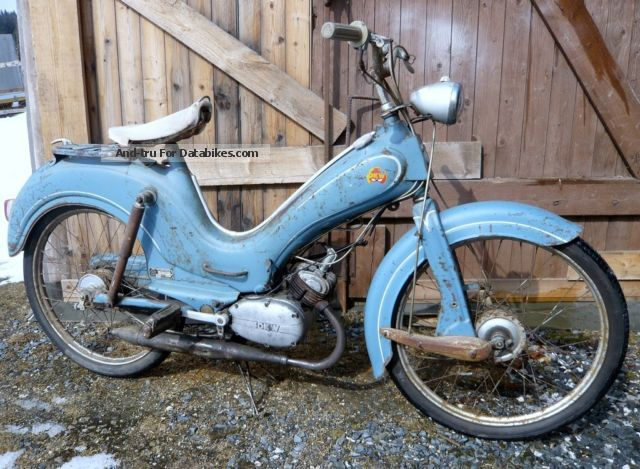 1956 DKW  Hummel Motorcycle Motor-assisted Bicycle/Small Moped photo