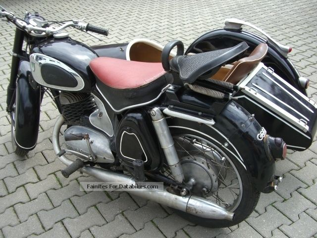 1956 dkw rt 250 s with sidecar steib ls 200. Black Bedroom Furniture Sets. Home Design Ideas