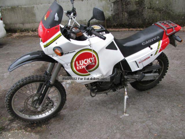 1995 Cagiva  900 lucky elephant i.e. Motorcycle Enduro/Touring Enduro photo