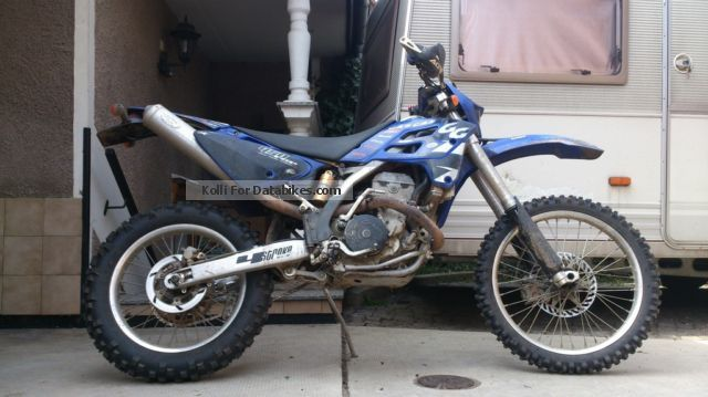 2007 Gasgas  450 fse Motorcycle Enduro/Touring Enduro photo