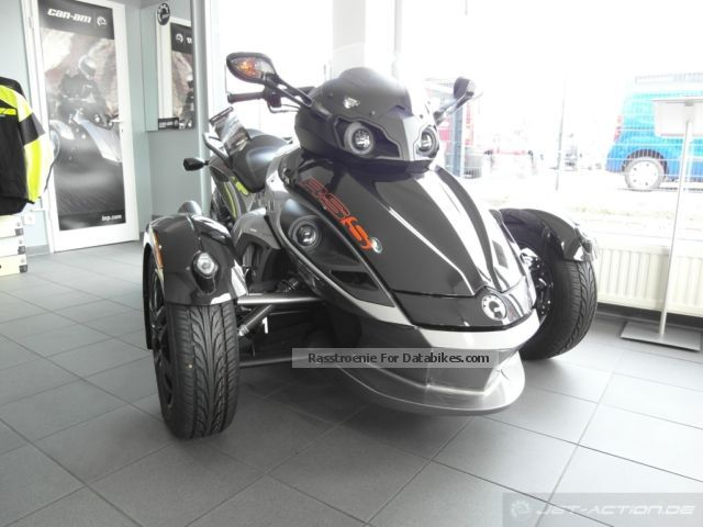 2012 BRP  Can-Am Spyder RS-S SE5 +500 € accessories for free Motorcycle Quad photo