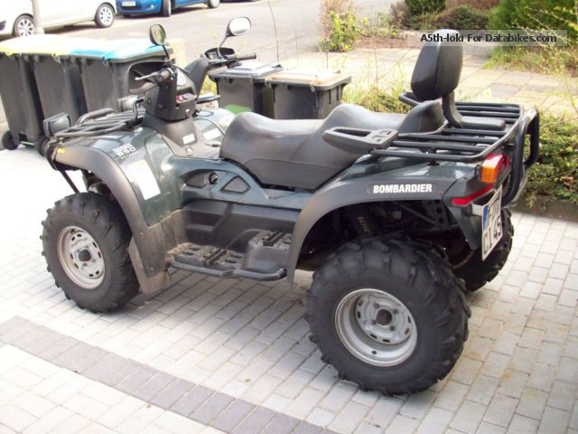 2006 Can Am  Traxter Max 650 xt Motorcycle Quad photo