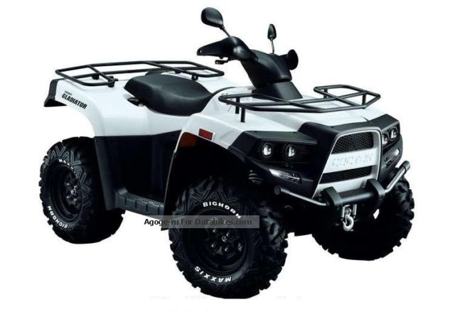 2012 Cectek  Gladiator T5 -500 LOF Motorcycle Quad photo