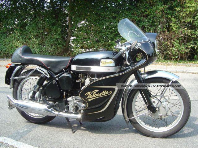 GG Motorradtechnik  Velocette Venom Clubman Veeline 1961 1961 Vintage, Classic and Old Bikes photo