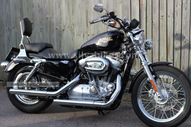 2010 Harley Davidson  * Harley-Davidson Sportster XL883L * Low * Many extras * Sequential Port Model Motorcycle Chopper/Cruiser photo