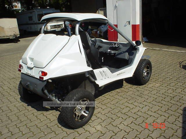 2010 Herkules Mini Buggy quad * Fun to ride without a helmet