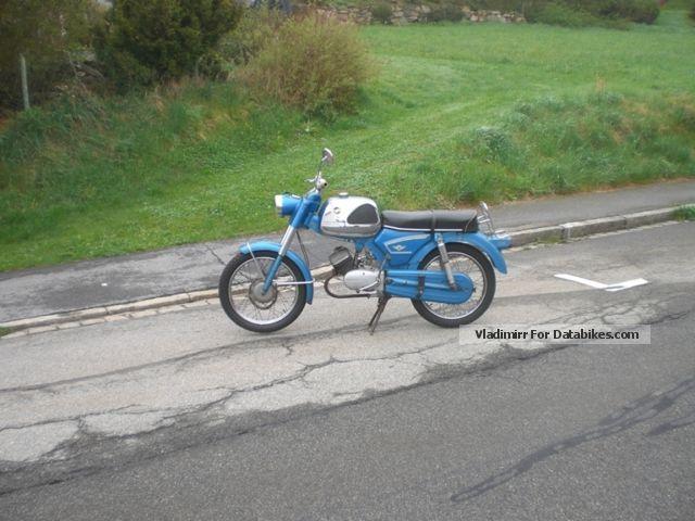 Zundapp  Zündapp C50 Sport 517 Buffalo original tank ready to drive 1969 Vintage, Classic and Old Bikes photo