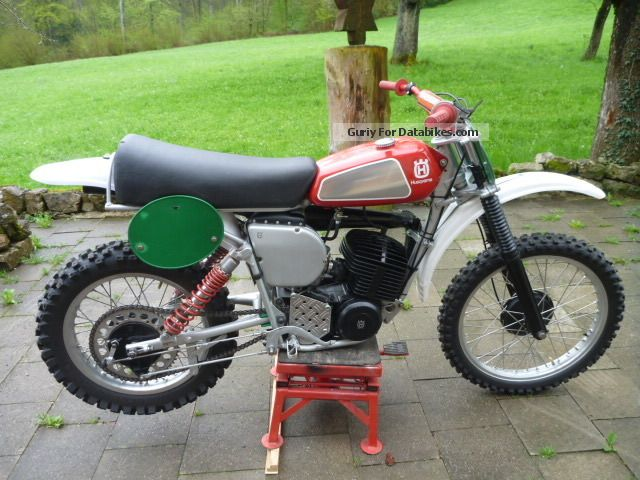 Husqvarna  CR 360 Motocross Oltimer 1975 Vintage, Classic and Old Bikes photo
