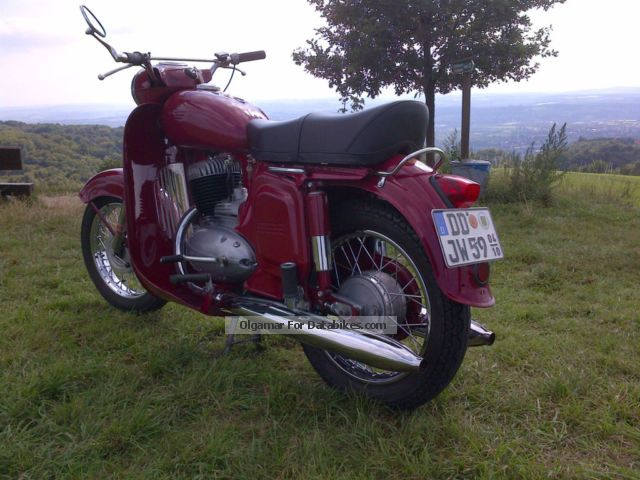 1967 Jawa  Type Panelka 559 (250cc) Motorcycle Tourer photo