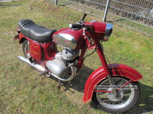 1966 Jawa  Vintage 360 Motorcycle Tourer photo
