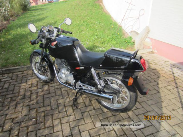 2012 Honda  XBR 500 S Motorcycle Motorcycle photo
