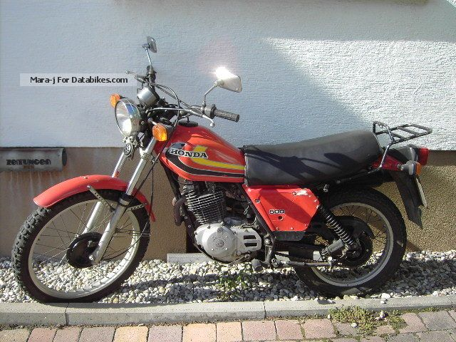 Honda  XL 500 S 1980 Enduro/Touring Enduro photo