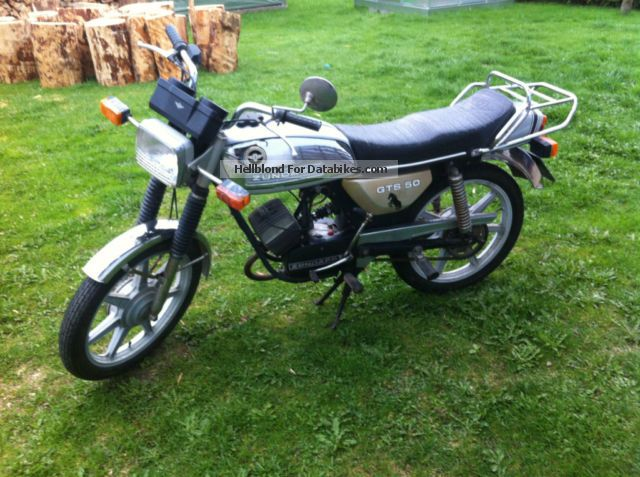 Zundapp  Zündapp GTS 50 moped type 529-024 1979 Vintage, Classic and Old Bikes photo