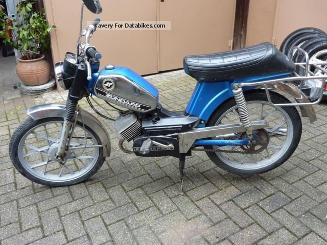1976 Zundapp  Zündapp ZD 20 Motorcycle Motor-assisted Bicycle/Small Moped photo