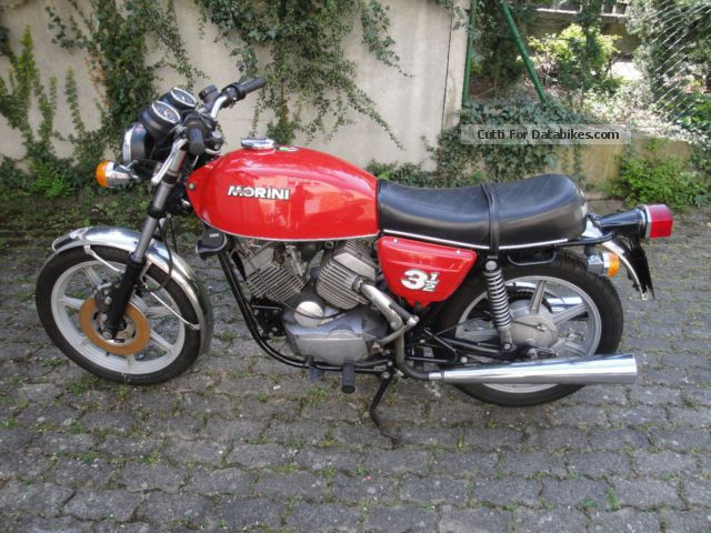 Moto Morini  350k 1979 Vintage, Classic and Old Bikes photo