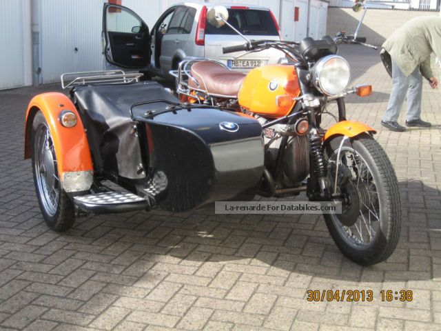 BMW  R90S sidecar 1973 Vintage, Classic and Old Bikes photo