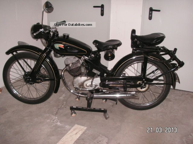 NSU  FOX 4 stroke 98 cc 1949 Vintage, Classic and Old Bikes photo