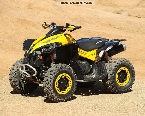 2011 bombardier brp can am renegade 800r xxc ec demo. Black Bedroom Furniture Sets. Home Design Ideas