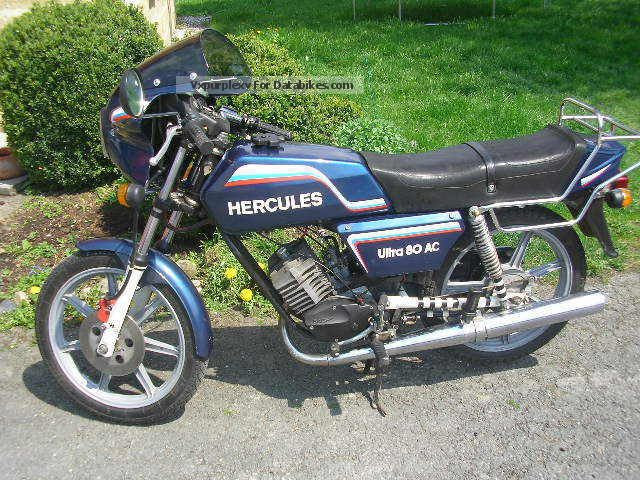1982 Hercules  Ultra Motorcycle Motor-assisted Bicycle/Small Moped photo