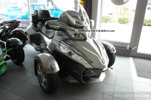 2012 Can Am  BRP Spyder RT-S SE5 2011 Motorcycle Trike photo