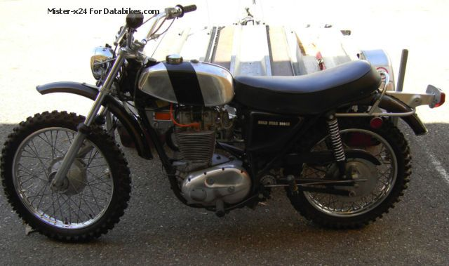 BSA  Goldstar 500 SS 1971 Vintage, Classic and Old Bikes photo