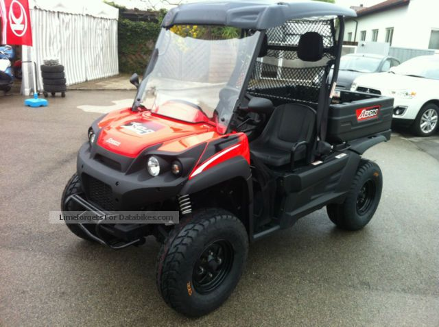 2009 Aeon  Cube 350 4WD Motorcycle Other photo