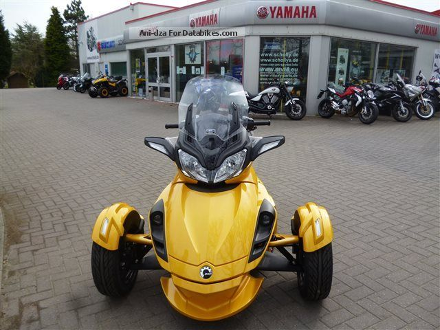 2012 Can Am  Spyder ST-S, Financing avail. FsKl. B Motorcycle Quad photo