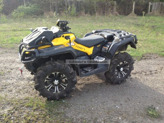 2013 can am can am outlander 1000 xmr mud racer. Black Bedroom Furniture Sets. Home Design Ideas