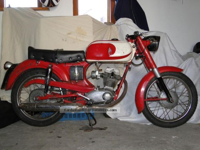 Moto Morini  Corsaro 125 1963 Vintage, Classic and Old Bikes photo