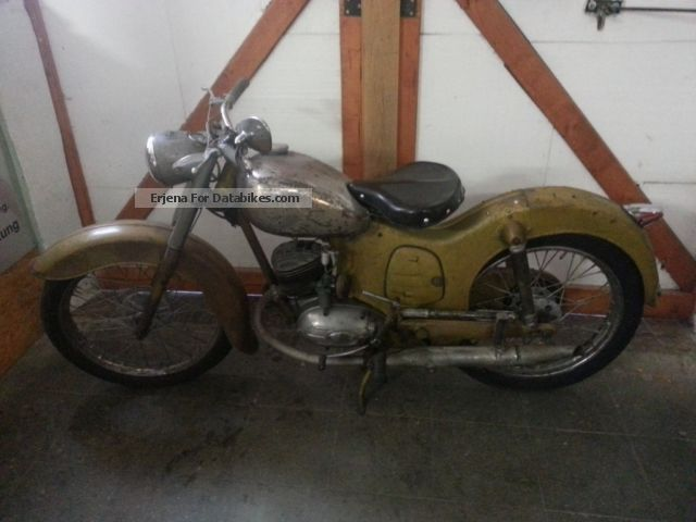 Puch  150 TL beautifully patinated condition TÜV finished 1952 Vintage, Classic and Old Bikes photo