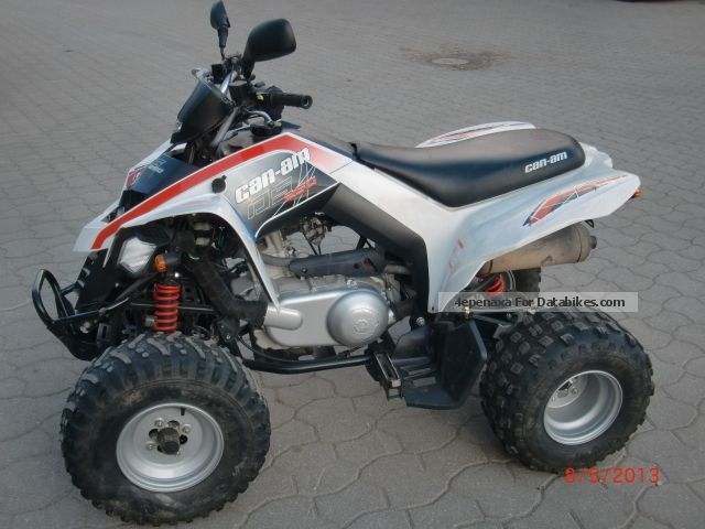 2009 Can Am  250 Motorcycle Quad photo