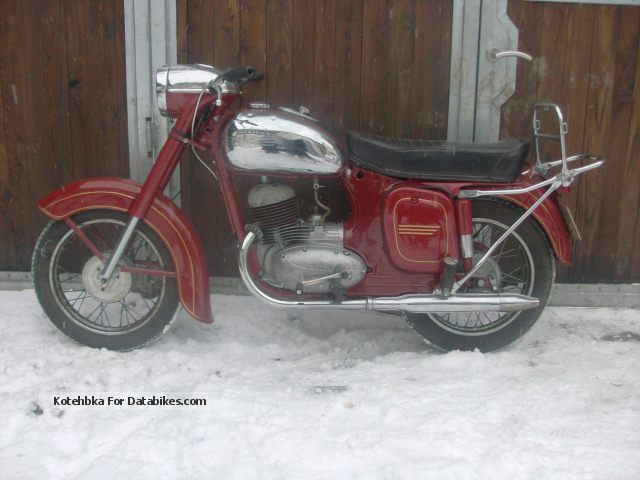 Jawa  125cc type 355 dual port 1957 Vintage, Classic and Old Bikes photo