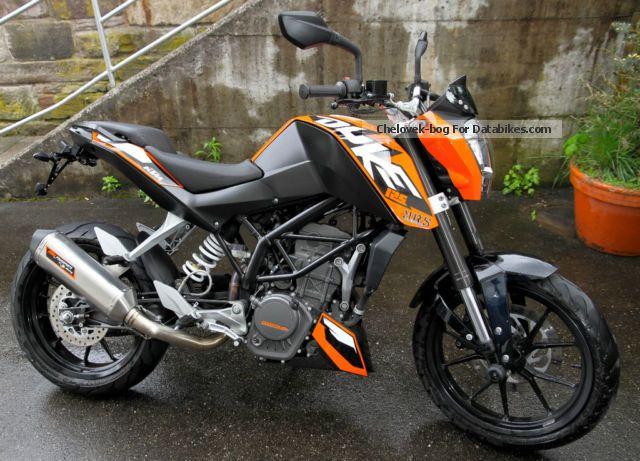 2012 KTM  Duke Motorcycle Lightweight Motorcycle/Motorbike photo