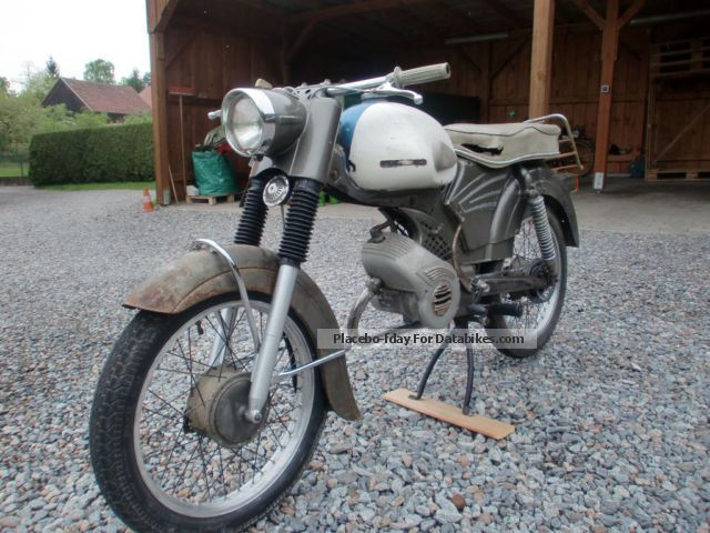 Zundapp  Zündapp KS50 super 1963 Vintage, Classic and Old Bikes photo