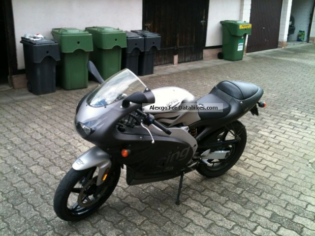 2002 Aprilia  rs 50 Motorcycle Motor-assisted Bicycle/Small Moped photo
