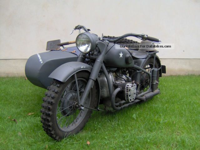 Ural  M 72 1942 Vintage, Classic and Old Bikes photo