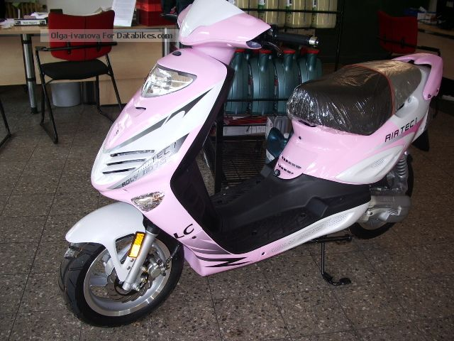 2012 Adly  AIRTEC 50 PINK! SPECIAL PRICE! Fundable Motorcycle Scooter photo