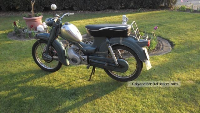 Zundapp  Zündapp Super Combinette 1968 Vintage, Classic and Old Bikes photo