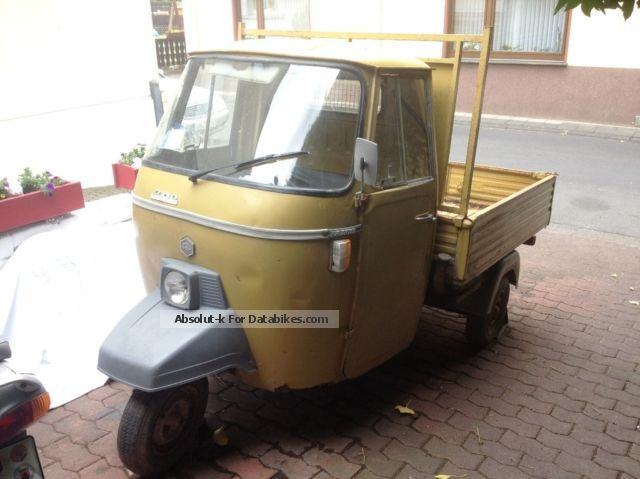 Piaggio  APE 501 1979 Vintage, Classic and Old Bikes photo