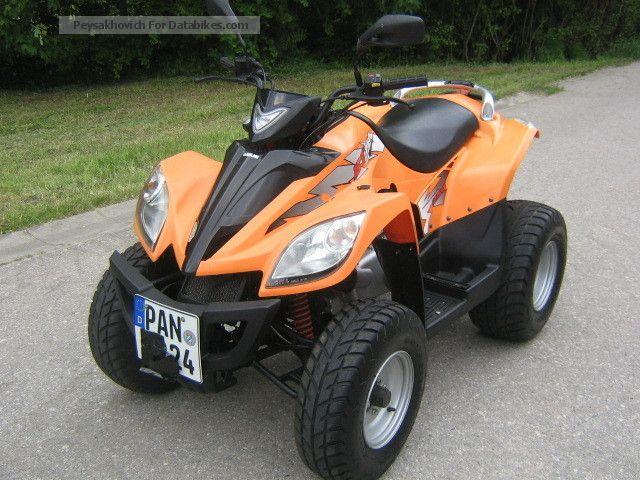 2007 Kymco  Daelim ET-250 with new TÜV + Service ... Motorcycle Quad photo