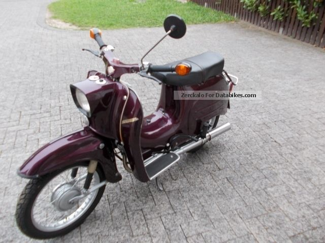1970 Simson  Kr51 Motorcycle Motor-assisted Bicycle/Small Moped photo