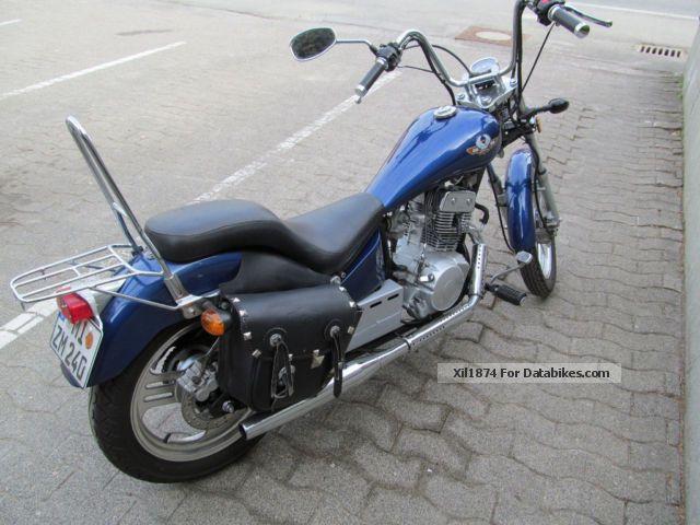 2011 WMI  DD125 Motorcycle Chopper/Cruiser photo