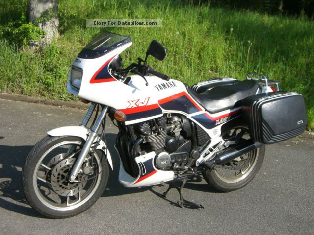 1986 WMI  Yamaha XJ 600 approval to October 2014 Motorcycle Motorcycle photo
