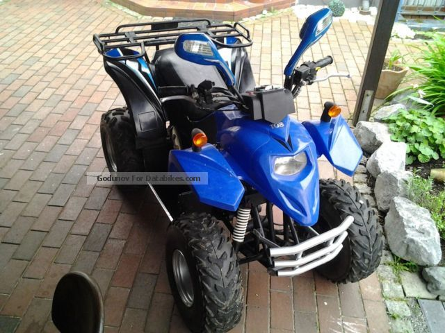 2005 TGB  Hornet 50cc Quad Motorcycle Quad photo