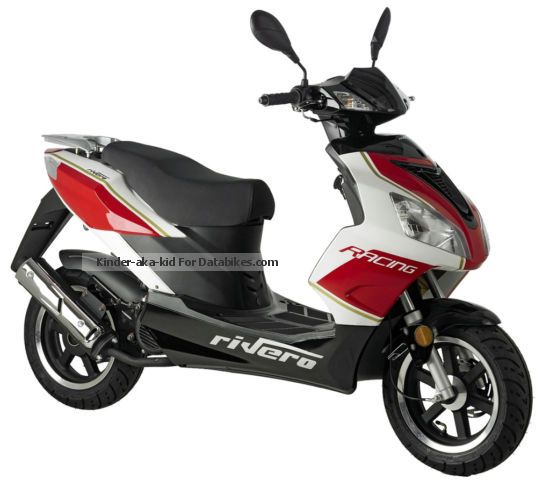 2012 Rivero  GP-50 2-stroke NEW Motorcycle Scooter photo