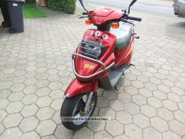 2000 PGO  Big Max 90 Motorcycle Scooter photo