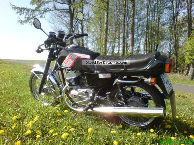 1992 Jawa  639 ts Motorcycle Motorcycle photo