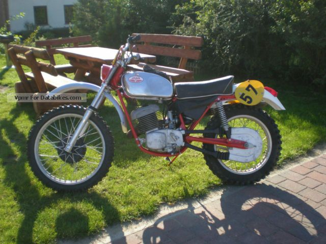 Jawa  Factory Enduro Team Type 654 Neckermann 1970 Vintage, Classic and Old Bikes photo